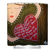 Dorothy Day Shower Curtain