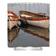 Dory Morning Reflection Shower Curtain
