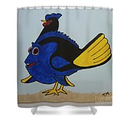 Dory Shower Curtain