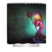 Dota 2 Shower Curtain