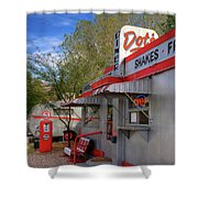 Dot's Diner In Bisbee Shower Curtain