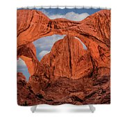 Double Arches At Arches National Park Shower Curtain