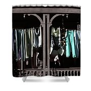 Double Bay Washday Shower Curtain