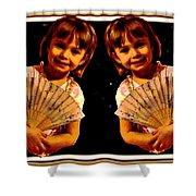 Double Beauty Shower Curtain