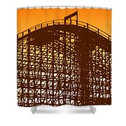 Double Down Shower Curtain