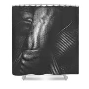 Double Knot Windsor Neck Tie  Shower Curtain