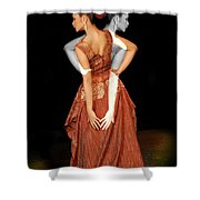 Double Personality Shower Curtain