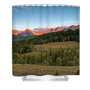 Double Rl Ranch Shower Curtain