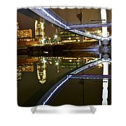 Double Skyline  Shower Curtain