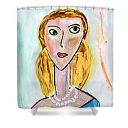 Double Strand Shower Curtain