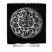 Double Stuff Oreo Shower Curtain