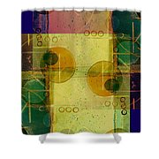 Double Vision Shower Curtain