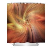Doubled Vibrations Of Light Shower Curtain