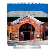 Doubleday Field Shower Curtain