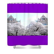 Doubles Shower Curtain