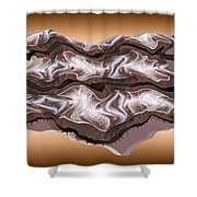 Doubt Its Redoubt Shower Curtain