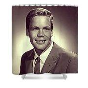 Doug Mcclure, Vintage Actor Shower Curtain
