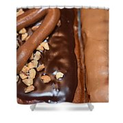 Doughnut Love  Shower Curtain