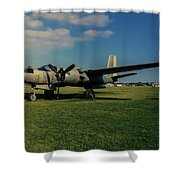 Douglas A-26 Invader Eaa Shower Curtain