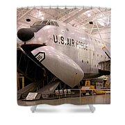 Douglas C 124c Globemaster Plane Shower Curtain