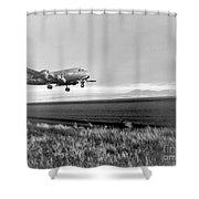 Douglas C-54 Skymaster, 1940s Shower Curtain