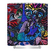 Dove Of  Many Colors Shower Curtain
