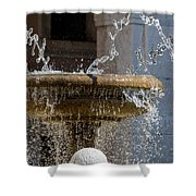 Water Of The Doves Shower Curtain