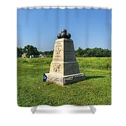 Dow 6th Maine Battery Shower Curtain