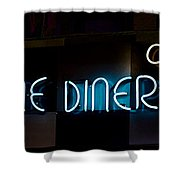 Down Home Diner  Shower Curtain