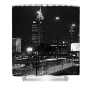Down I75 Shower Curtain