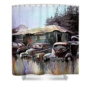 Down In The Dell Shower Curtain