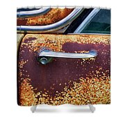 Down In The Dumps 15 Shower Curtain