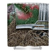 Down In The Dumps 19 Shower Curtain