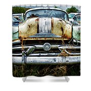 Down In The Dumps 2 Shower Curtain