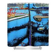 Down In The Dumps 9 Shower Curtain