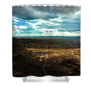 Down The Road Shower Curtain