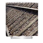 Down The Tracks Shower Curtain