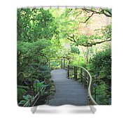 Down To The Garden Shower Curtain