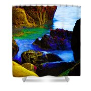 Down To The Sea Shower Curtain