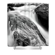 Downstream From Anna Ruby Falls Shower Curtain