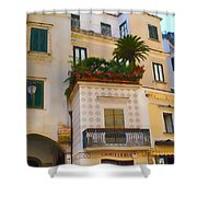 Downtown Amalfi Shower Curtain