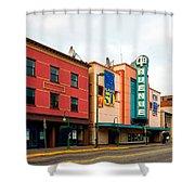 Downtown Anchorage Alaska Shower Curtain
