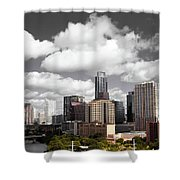 Downtown And Lake Shower Curtain