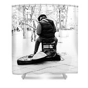 Downtown Andrew Shower Curtain