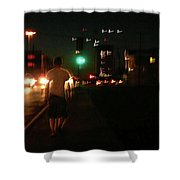 Downtown Shower Curtain