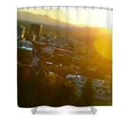 Downtown Asheville Shower Curtain