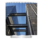 Downtown Atl Shower Curtain