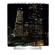 Downtown Atlanta Lights Shower Curtain