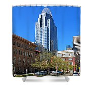 Downtown Cincinnati  4188 Shower Curtain