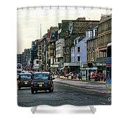 Downtown Edinburgh  Shower Curtain
